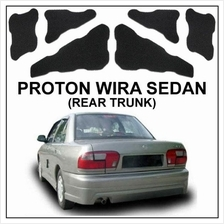 CARFIT Rear Trunk/ Boot Deadening Sound Proof: PROTON WIRA SEDAN