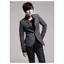 Men Coat- Korean men Slim small suit jacket
