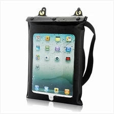 Waterproof Case and Earphones for Tablets (iPad, iPad 2, Android Table