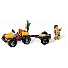 LEGO 5886 Dino Hero Scout Minifigure with Scout ATV NEW