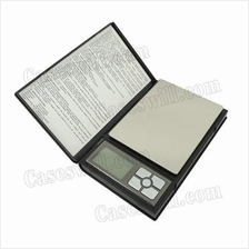 1pc 2kg * 0.1g Digital Scale & 2*AAA Battery (Black)