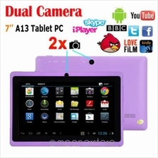 FLATPAD II PLUS PURPLE A23 DUAL CORE DUAL CAMERA ANDROID 4.2 TABLET