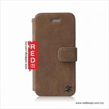Zenus iPhone 5 iPhone 5S Vintage Leather Diary Collection - Vintage Br