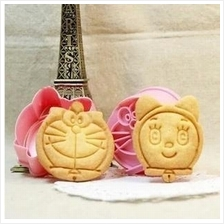 Doremon Biscuit / Cookies Mould ( 2 sets)