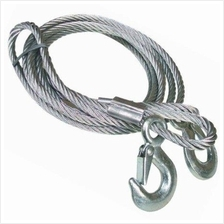 4M 5 Tons Auto Car Van Truck Steel Towing Cable Tow Rope