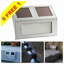 Stainless Steel Solar Powered LED Wall / Stair Light