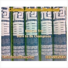 Champion Badminton Shuttlecock 3 tubes  (China)