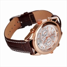 4GB Rose Gold MP3 Player DV DVR Waterproof Spy Camera Slim Watch White