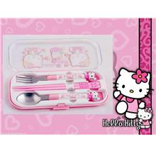 BT0029A HELLO KITTY CUTLERY SET