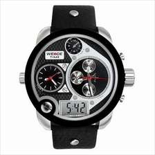 ORIGINAL WEIDE DUAL ANALOG WH2305 ONLY THE BRAVE OVERSIZE MAN LEATHER