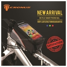 [CRONUS.MY] FREE SHIPPING L SIZE BICYCLE TOP TUBE SMARTPHONE FRAME BAG