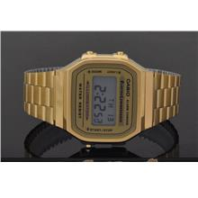 Casio Digital Illuminator Gold watch A168WG-9WDF