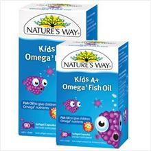 Nature Way Kid A+ Omega (USA) 90 Capsules - RM105