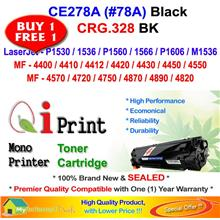 HP 78A CE278A / Canon 328 Toner Compatible * BUY-1-FREE-1 * 2 Units