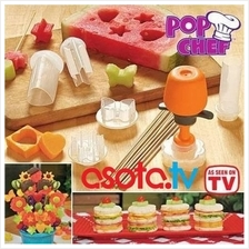 Pop Chef Fast and Easy Shapes in Seconds / Fruit n Cupcake decoration