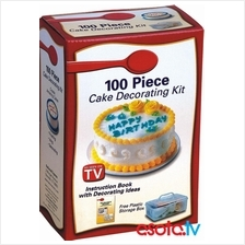 100 PCS CAKE DECORATING KIT
