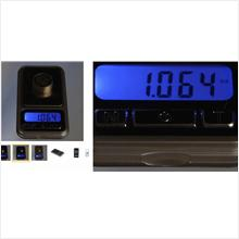 500g/0.1g Jewelry Portable Electronic Pocket Scale