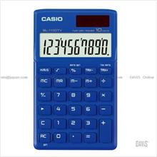 CASIO SL-1110TV-BU Calculator Practical Portable Type blue