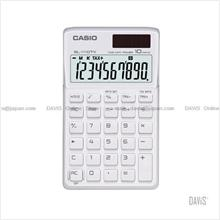 CASIO SL-1110TV-WE Calculator Practical Portable Type white