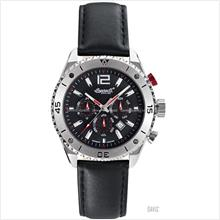 INGERSOLL IN3219SBK Automatic Snake Calendar M-Black Leather LE
