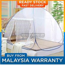 Mosquito Net Foldable Self Standing Fully Covered / Kelambu Nyamuk