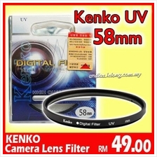 KENKO UV Camera Lens Filter (58mm) for canon,nikon,lumix,olymp..