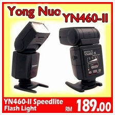 Yong Nuo YN460-II Speedlite Flash Light YongNuo-Canon-Nikon-DSLR-