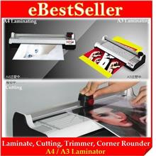 ORI 6-in-1 A4 / A3 Laminator Paper Photo Cutter Trimmer Corner Rounder