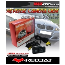 REDBAT RB-196BM 170o Color CCD IR Rear Camera: BMW 3, 5 Series