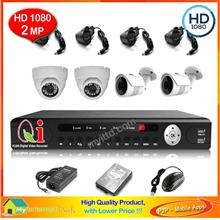 CCTV LED IR Dome Camera 1/4' Day & Night View - AHD 720P 1.0MP