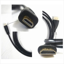 micro HDMI Type D to HDMI Tye A 1.5 meter cable for tablet PC Camera