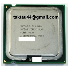 Intel Core 2 Quad Q9400 2.7Ghz CPU / Processor socket 775