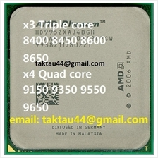 AMD Phenom X4 9550+ Quad Core 2.2Ghz AM2+ / 940 CPU / Processor