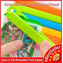 Get 10pcs Kitchen Food Plastic Bag Kitchen Package Sealer Clip