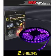 SHILONG 5 Meter 0.6W Super Bright 5050 Big LED Purple Stripe Light