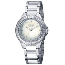 ORIGINAL EYKI MODERN w8423L-1l DIAMOND LADIES S.STEEL watch..