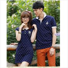 Couple wear/Plus size woman/Dress/Top/blouse/ (CW-XF(4)-00005)