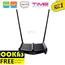 TP-LINK High Power 2x9dbi Wireless  Router TL-WR841HP V3 UniFi/Maxis
