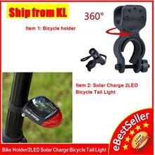 360° Rotatable Torchlight Flashlight Holder Clamp Grip Bicycle Bike