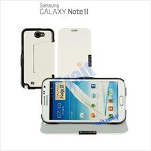 Samsung Galaxy Note 2 II N7100 Flip Stand Leather Case Standable Cover