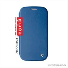 Viva Madrid Sabio Flex Nuevo Book Flip Stand Case For Galaxy S4 - Blue