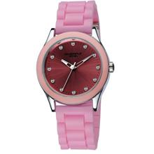 Eyki Overfly W8510G Unisex Japan Quartz Rubber Watch Pink
