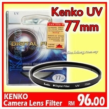 KENKO UV Camera Lens Filter (77mm) for canon,nikon,lumix,olymp..