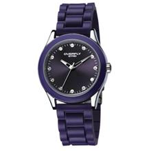 Eyki Overfly W8510G Unisex Japan Quartz Rubber Watch Purple