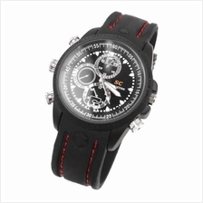 SC Waterproof Spy Pinhole Watch Camera DVR 4GB