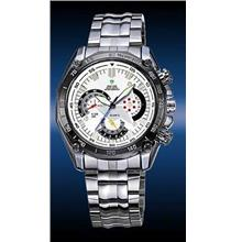 ORIGINAL WEIDE EF-550 WH-1011-2 white FIGURE S.STEEL SPORT WATCH
