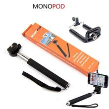 Monopod Pocket Size Self Potrait Camera Stand + Smart Phone Holder