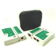 Network Lan Cable Tester RJ45 RJ11 Cat 5 Telephone W 9V Battery
