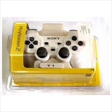 PS2 Playstation 2 Dualshock 2 Wireless 2.4G Controller - White
