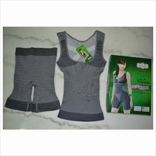 Natural Bamboo Slimming Suit 2 in 1 *Free Poslaju
